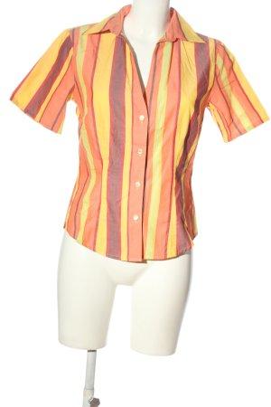 Otto Kern Camisa de manga corta estampado a rayas look casual