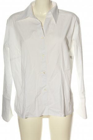 Otto Kern Long Sleeve Blouse white casual look