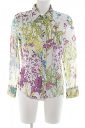 Otto Kern Langarm-Bluse Allover-Druck Casual-Look