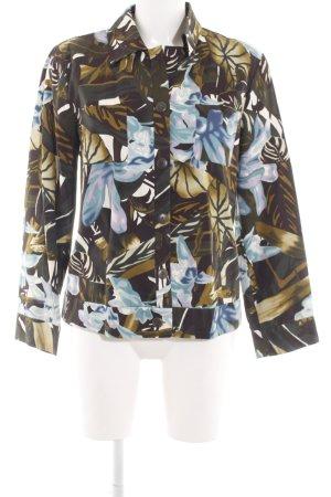 Otto Kern Langarmhemd Blumenmuster Casual-Look
