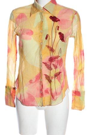 Otto Kern Long Sleeve Shirt flower pattern casual look