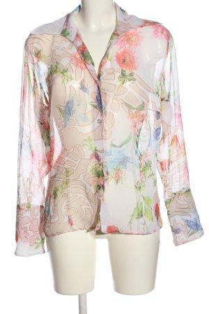 Otto Kern Long Sleeve Shirt allover print casual look