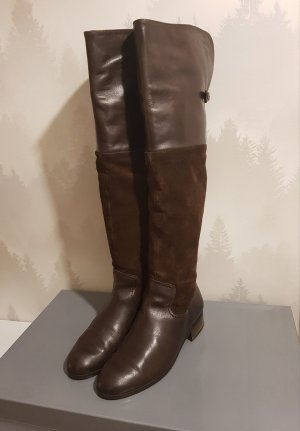 Otto Kern Overknees brown-dark brown