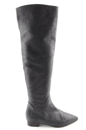 Otto Kern Stivale militare nero stile casual