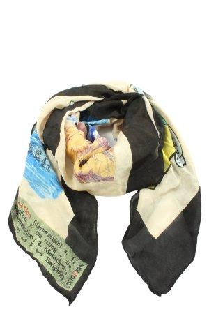 Otto Kern Châle au tricot imprimé avec thème style décontracté