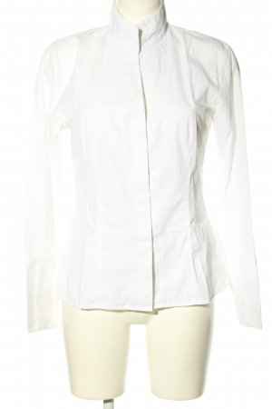 Otto Kern Stand-Up Collar Blouse white business style