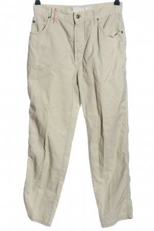 Otto Kern Stoffhose creme Casual-Look