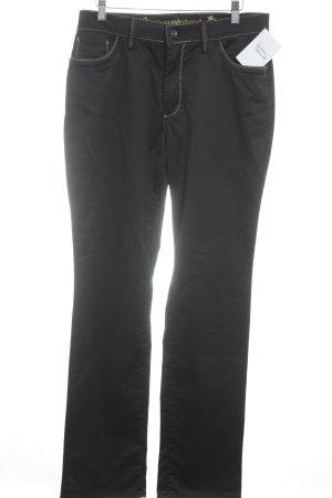 Otto Kern Straight-Leg Jeans dunkelbraun Casual-Look