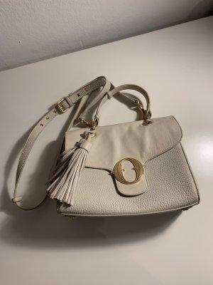 Ottod'Ame Handtasche creme weiß