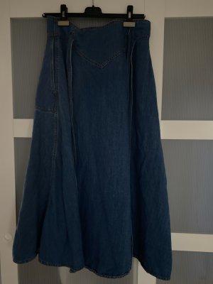 ottod'Ame Gonna di jeans blu