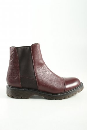 ottod'Ame Kurzstiefel braun-rot Casual-Look