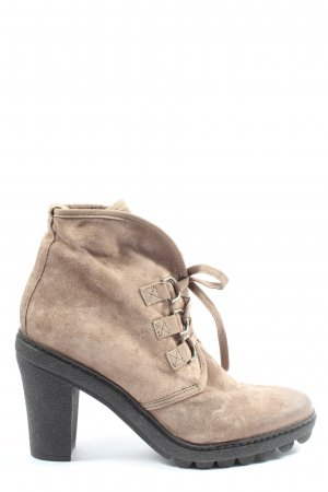 Ottoedieci Slouch Booties natural white casual look