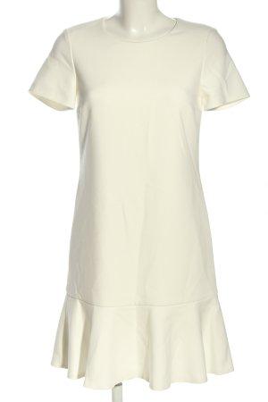 Oui A-Linien Kleid weiß Casual-Look