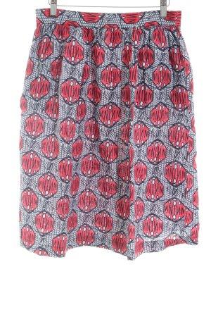 Oui Falda globo estampado con diseño abstracto estilo «business»