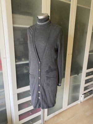 Oui Set Ensemble en tricot gris foncé