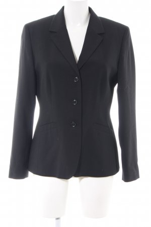 oui BLACK LABEL Kurz-Blazer schwarz Business-Look