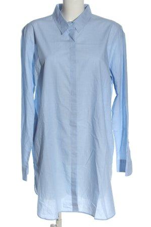 Oui Blusenkleid blau Casual-Look