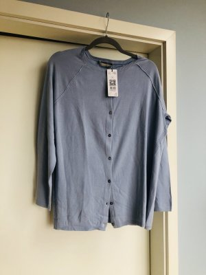 Oui Cardigan tricotés bleu azur