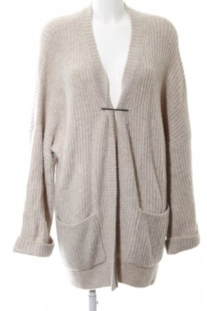 Oui Cardigan camel Casual-Look