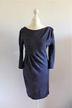 Oui Collection Business Beistift Kleid dunkelblau Gr. 36 S