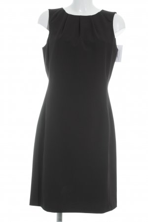 Oui Vestido ceñido de tubo negro estilo «business»