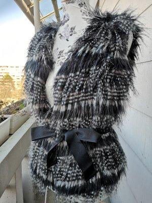Oui Fake Fur Weste Gr. S hot!