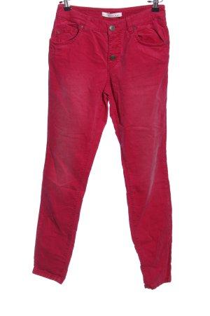 Oui Five-Pocket-Hose rot Casual-Look