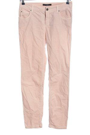 Oui Five-Pocket-Hose pink Casual-Look