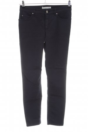 Oui Five-Pocket-Hose schwarz Casual-Look
