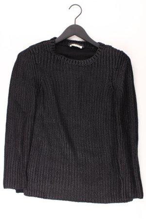 Oui Pull à gosses mailles noir polyester