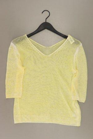 Oui Coarse Knitted Sweater yellow-neon yellow-lime yellow-dark yellow