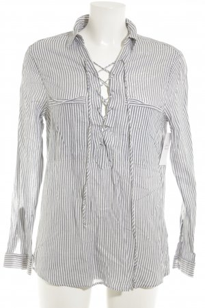 Oui Hemd-Bluse Streifenmuster Casual-Look