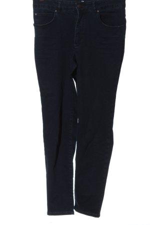 Oui High Waist Jeans blau Casual-Look