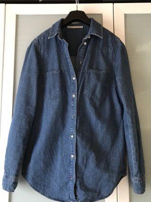 Oui Denim Shirt blue