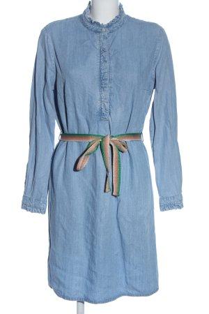 Oui Denim Dress blue casual look