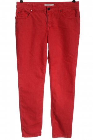 Oui Jeggings rot Casual-Look