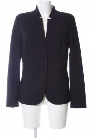Oui Kurz-Blazer schwarz Business-Look