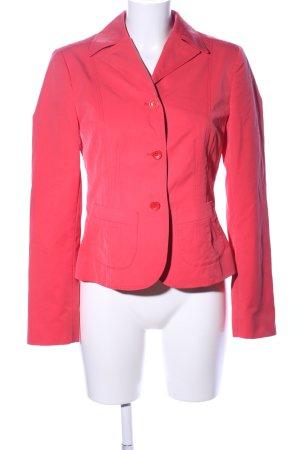 Oui Kurz-Blazer pink Business-Look