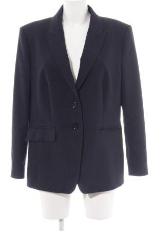 Oui Kurz-Blazer blau Business-Look