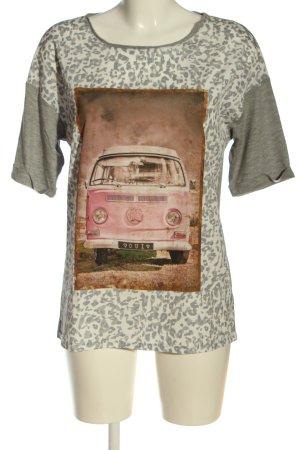 Oui Blusa Camisa estampado de animales elegante