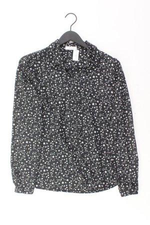 Oui Blouse à manches longues noir polyester
