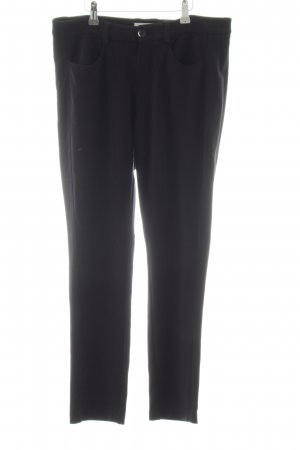 Oui Leggings schwarz Casual-Look
