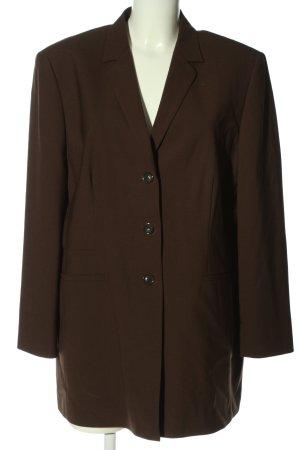 Oui Lange blazer bruin zakelijke stijl