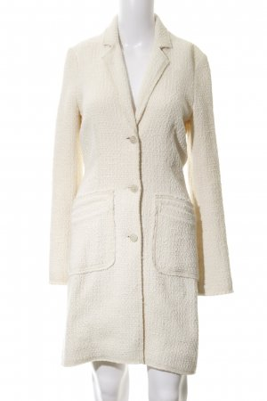 Oui Long-Blazer creme Casual-Look