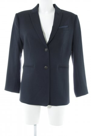 Oui Long-Blazer dunkelblau Business-Look