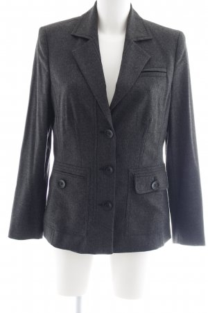 Oui Long-Blazer dunkelgrau Business-Look