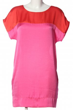Oui Long-Bluse pink-hellorange Casual-Look