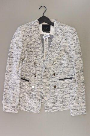Oui Longblazer Größe 40 weiß aus Baumwolle