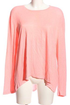 Oui Longsleeve pink Casual-Look
