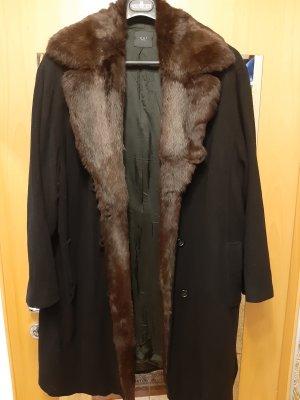 OUI Mantel mit Echt Pelz